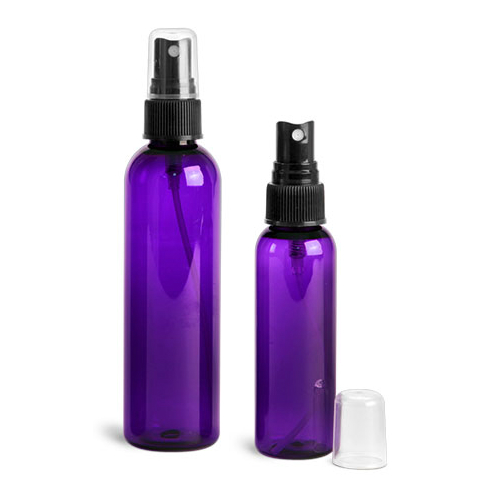 Purple Fine Mist Sprayer 2oz