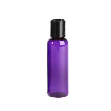 Purple Bottle with Disc Cap 2oz