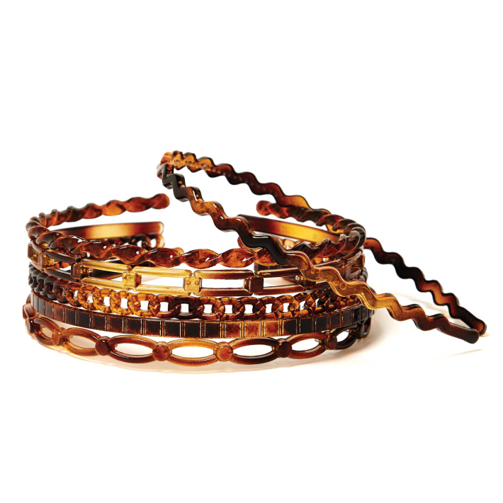 Tortoise Shell Narrow Headband