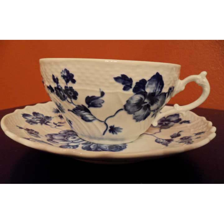 Blue Rose Breakfast Cup & Saucer