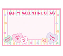 Sweet Talking Hearts Gift Cards