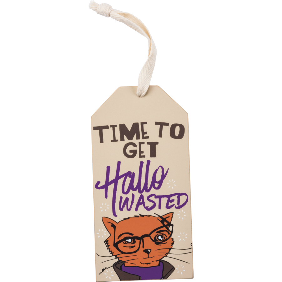 Hallowasted Bottle Tag