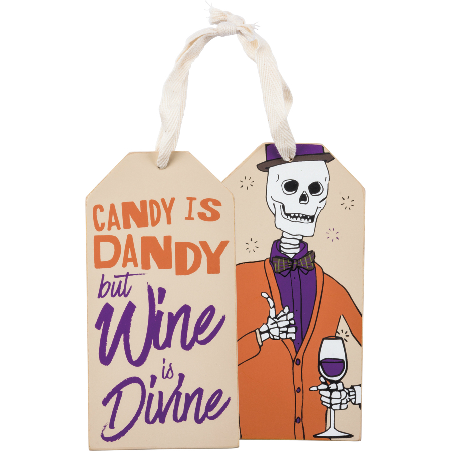 Wine Divine Bottle Tag