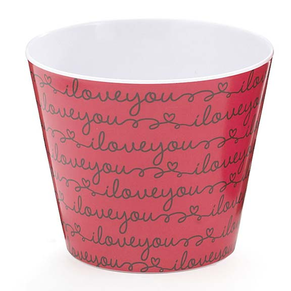 Love Letters Melamine Pot Cover