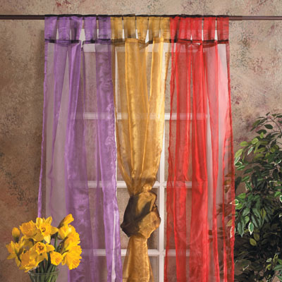 Sheer Tab Curtains