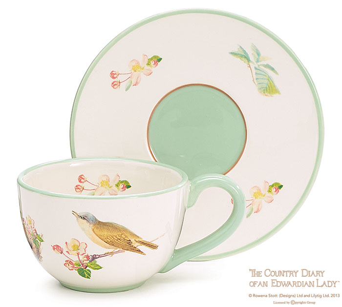 Birds of Olton Cup & Saucer