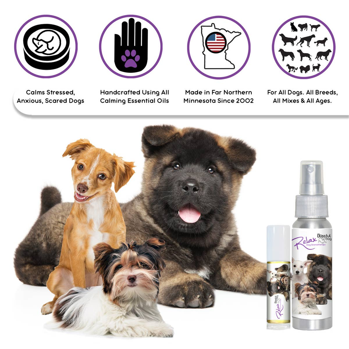 Relax Dog Aromatherapy Calming Spray