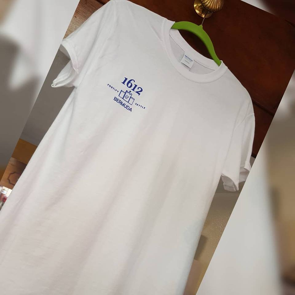 1612 Bermuda White T-Shirt MD