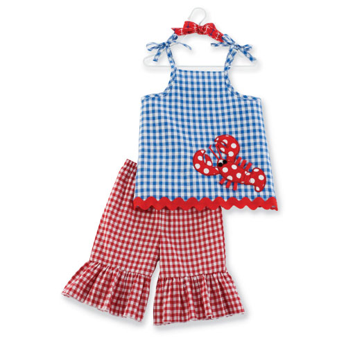 Little Pincher Tunic & Flare Pant 2-3T