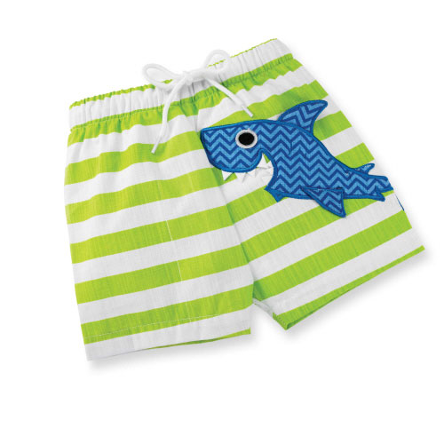 Shark Boy Swim Trunks 12-18M