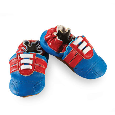 Blue Leather Shoe 6M