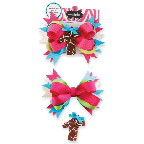 Giraffe Wild Child 3-In-1 Bow