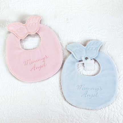 Mommy's Angel Blue Bib
