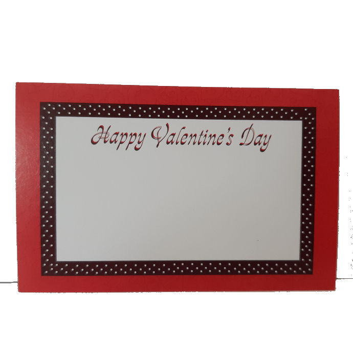 Happy Valentine's Day Gift Card