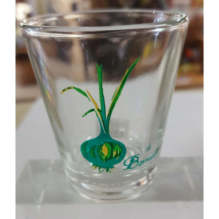 Bermuda Onion Shot Glass