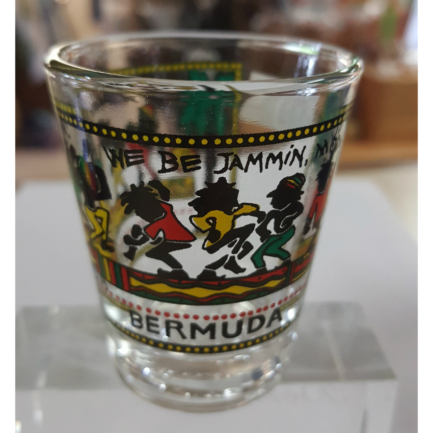 We Be Jammin' Bermuda Shot Glass