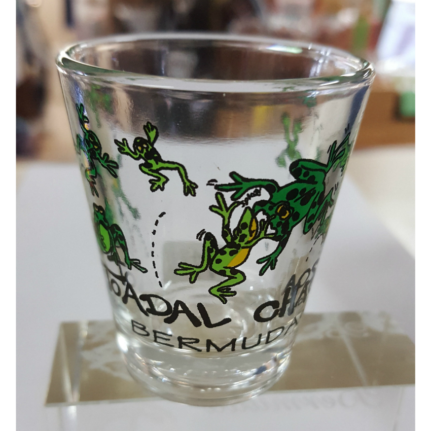 Toadal Chaos Bermuda Shot Glass