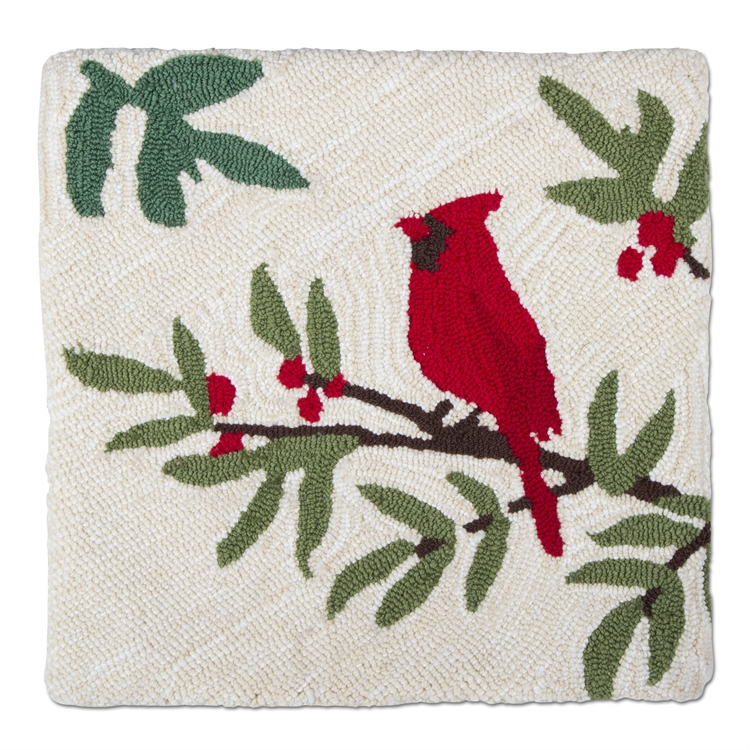 Cardinal Pillow Cover 18""