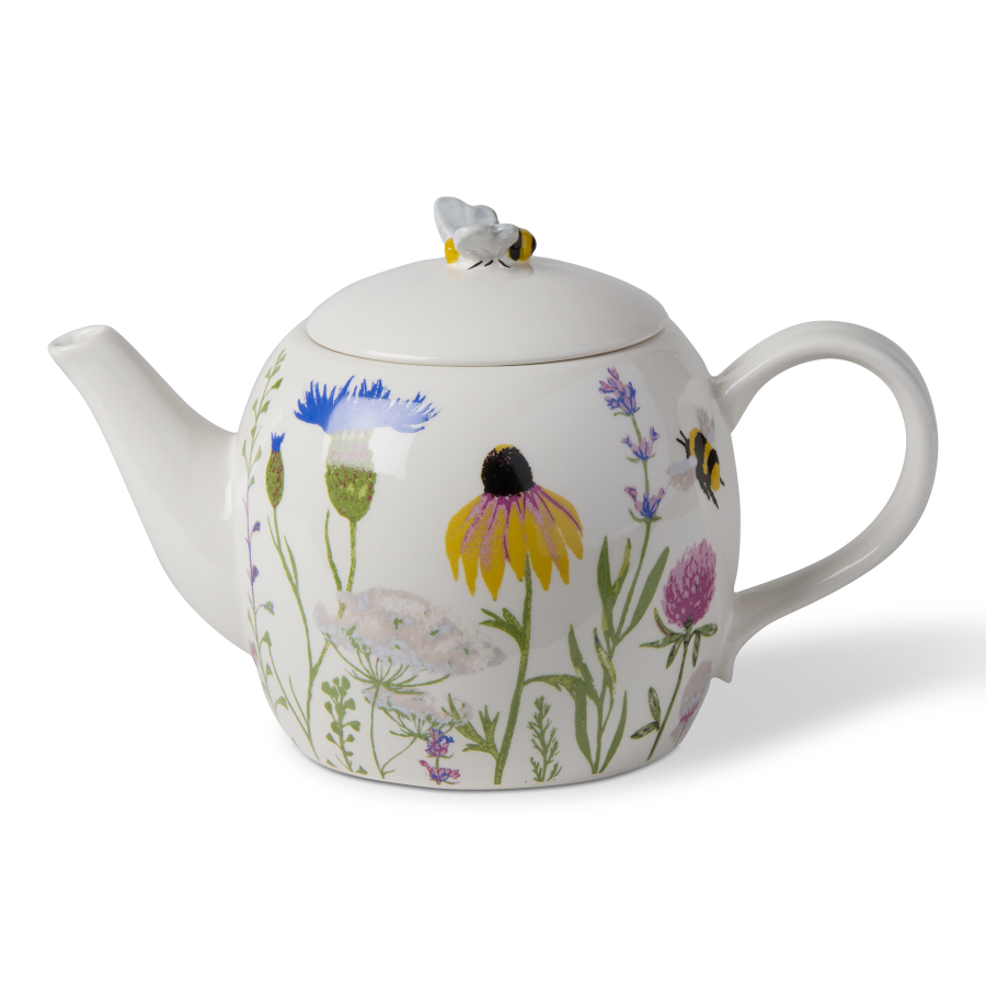 Bee Wildflower Teapot