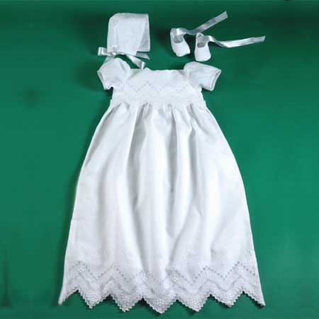 Mosaic Appenzelle Christening Gown Set