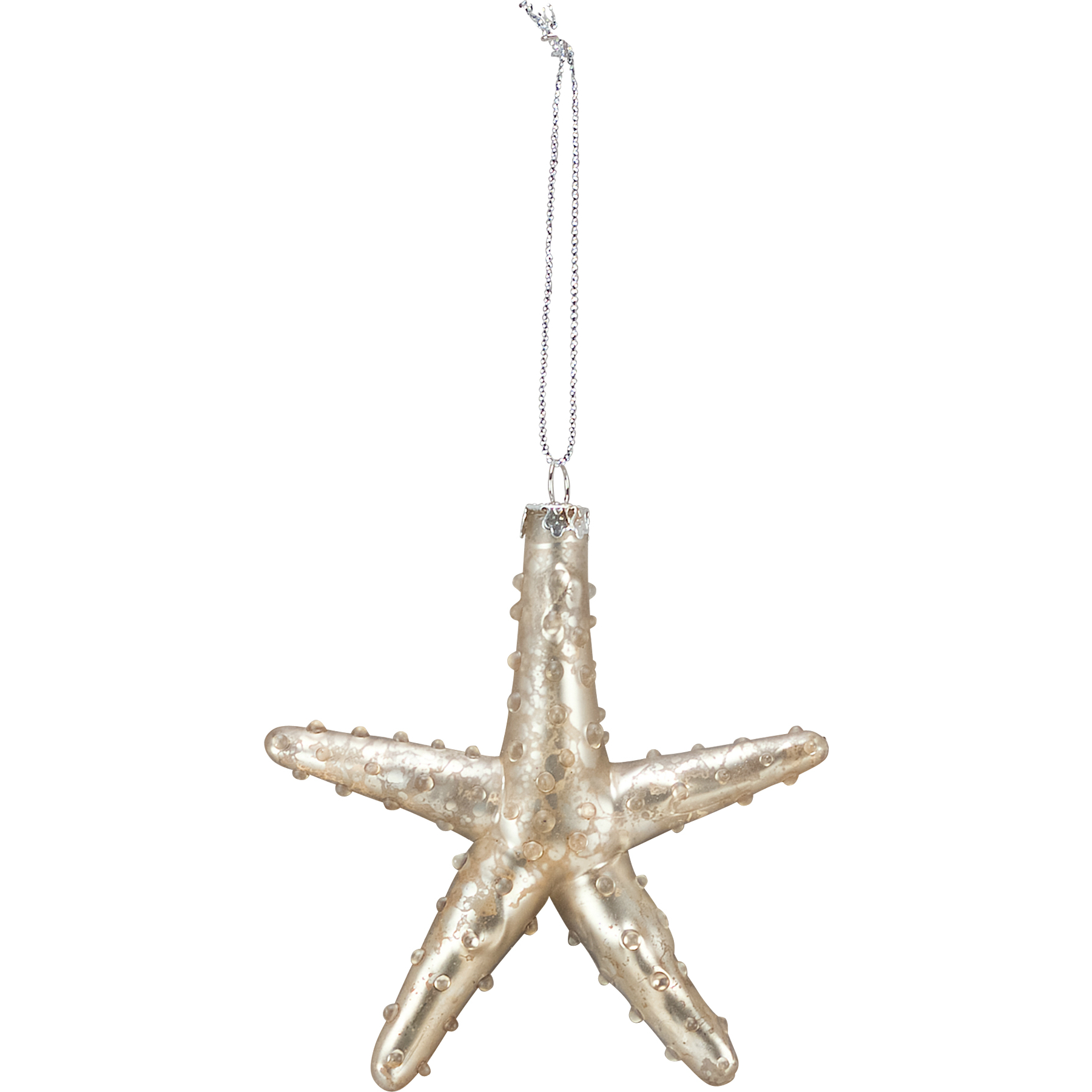 Glass Starfish Ornament