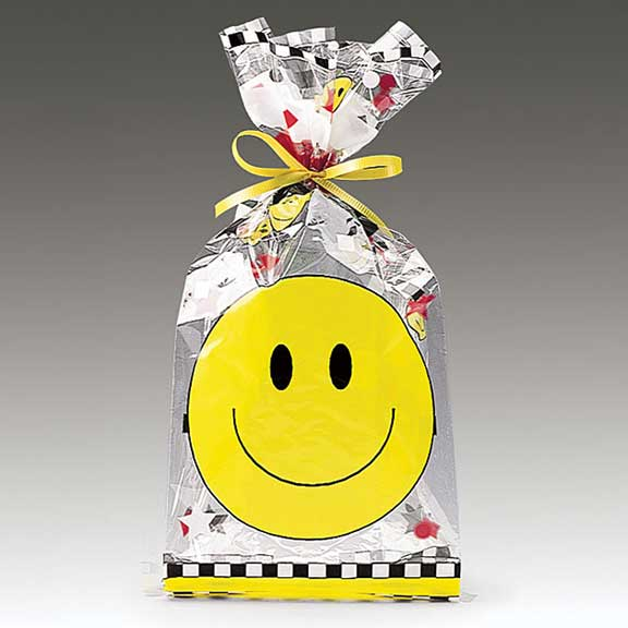 Smiley Face Cello Bag 11""