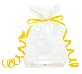 7x3x2 Clear Cello Bag