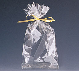 13x6x3 Clear Cello Bag