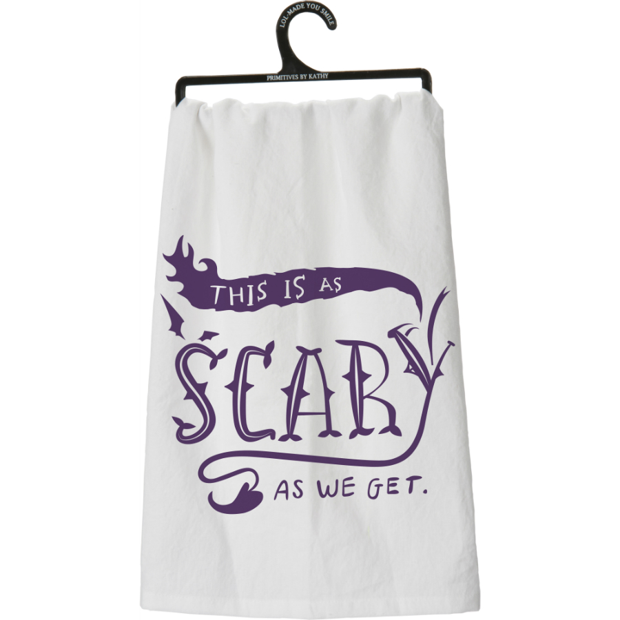 As Scary Flour Sack Towel