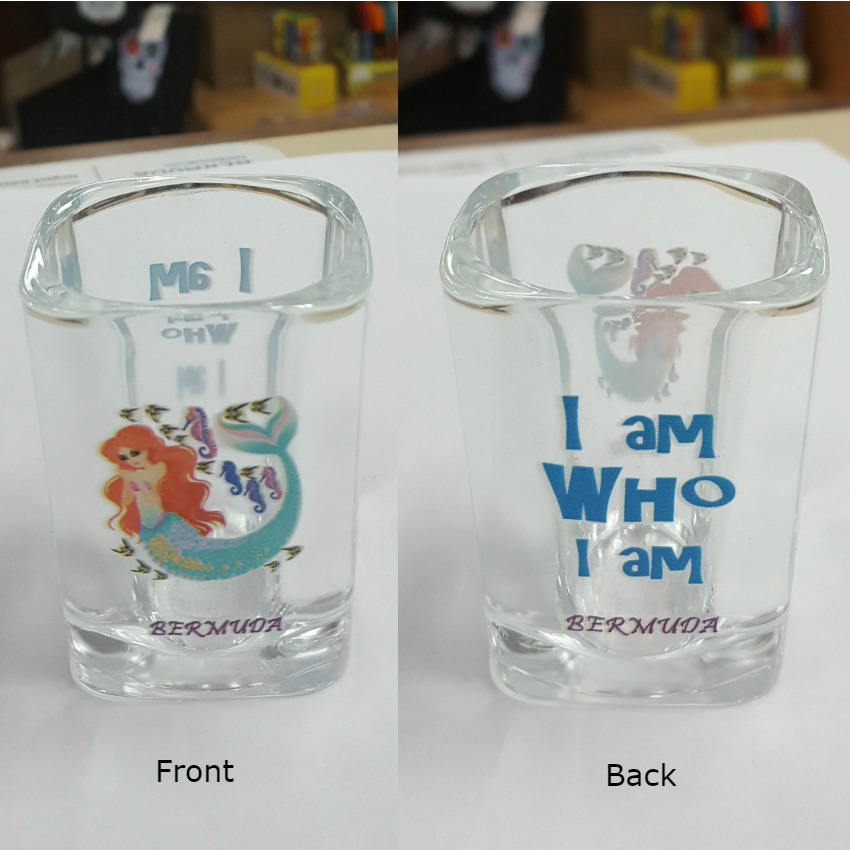 Bermuda Mermaid Shot Glass