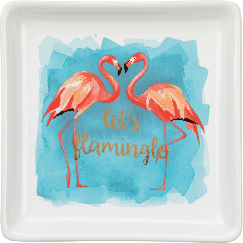 Flamingle Trinket Tray