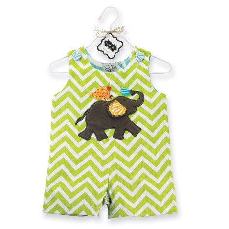 Elephant Shortall 2-3T