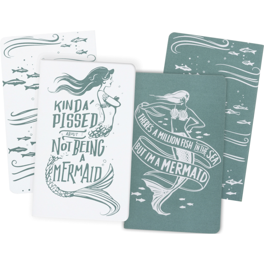 Mermaid Large Notebook Set/2