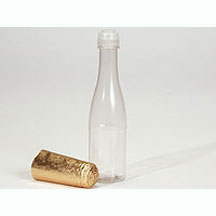 Champagne Bottle w/ Gold Foil