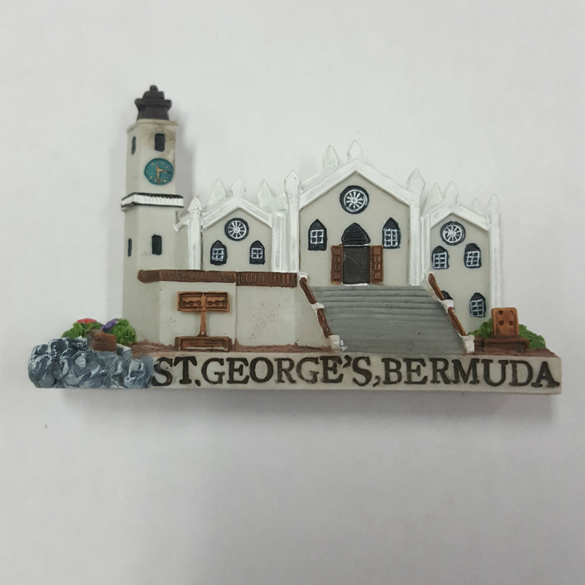 St. Peters Church Ceramic Magnet