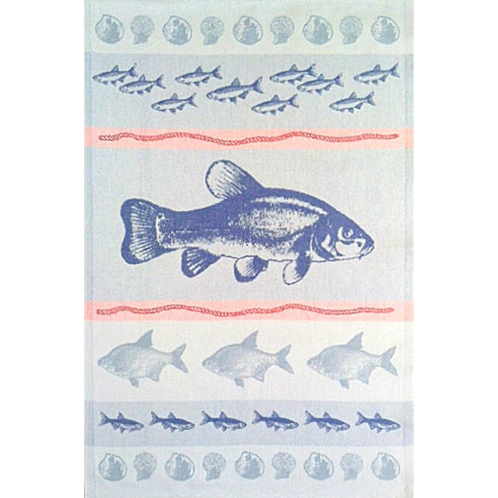 Fish Swedish Tea Towel