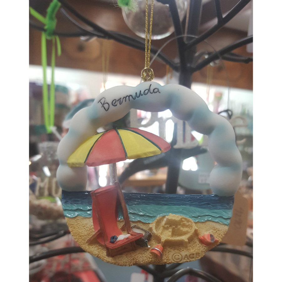 Bermuda Beach Chair Ornament