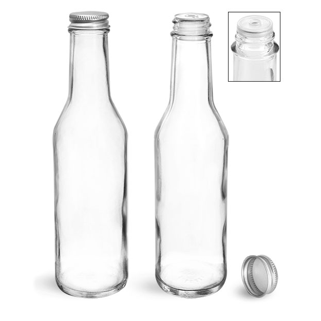 Glass Woozy Bottles w/ Orifice Reducers