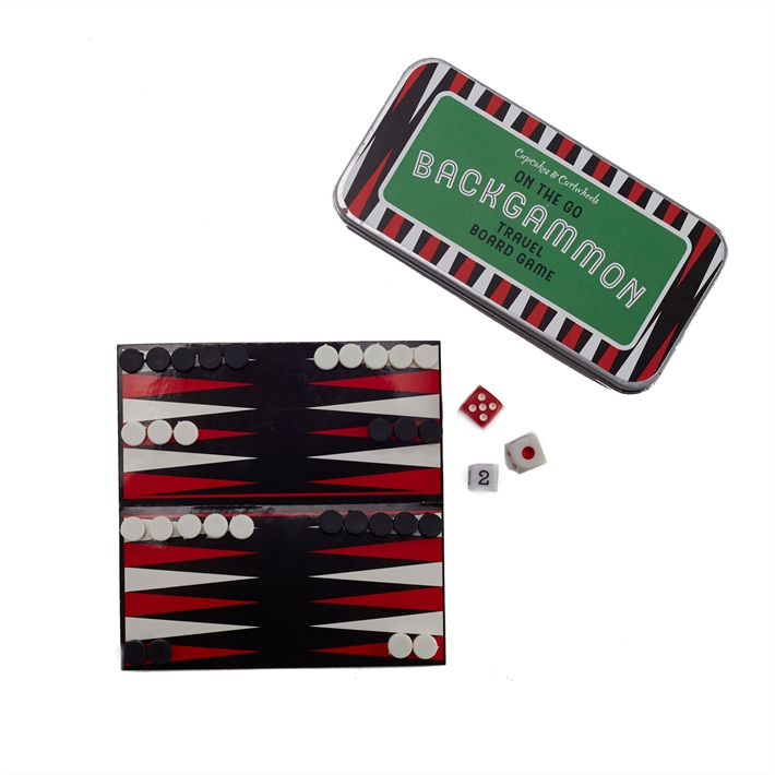 On The Go Backgammon Game