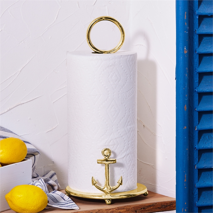 Anchors Away Paper Towel Stand