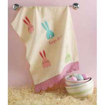 Valentine & Easter Dish Towels