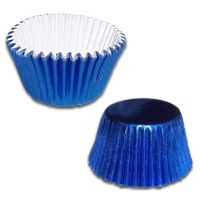 Metallic Blue Cups/100