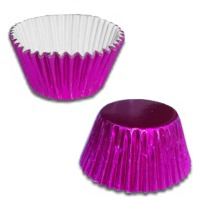 Metallic Pink Cups/100