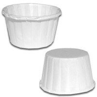 White Paper Nut Cups/36