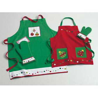 Xmas Aprons-Pot Holders-Towels