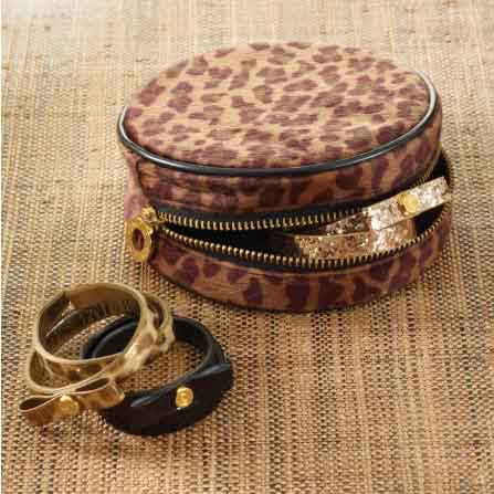 Haircalf Jewelry Round Case