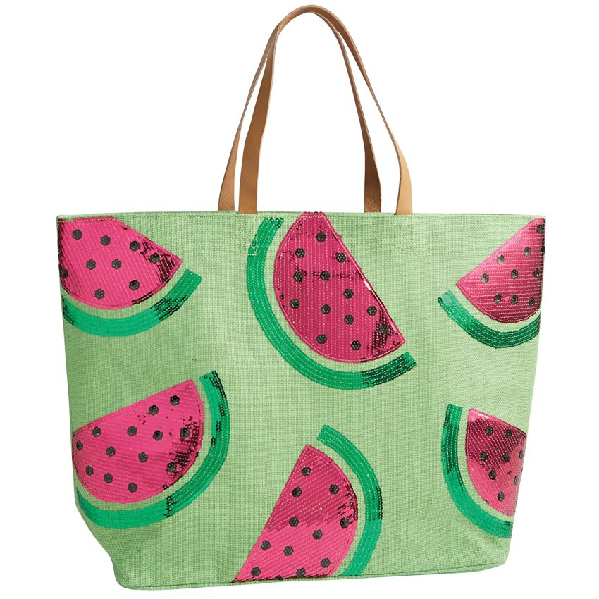 Watermelon Lime Tote