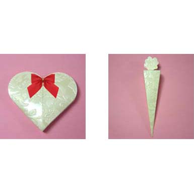 Heart Shaped Favour Box