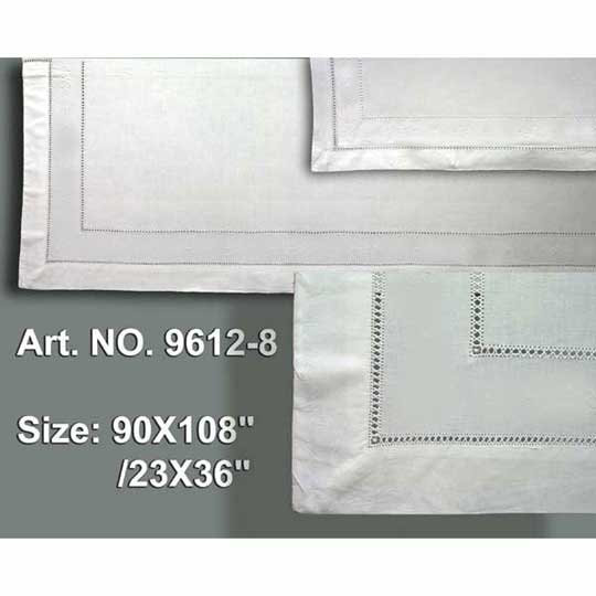 Double Hemstitch Sheet Set 90x108""
