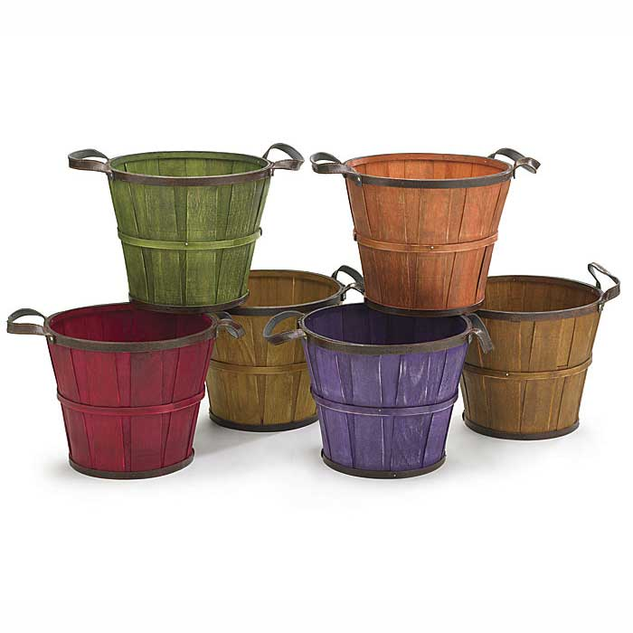 Fall Wooden Pot Covers 8""